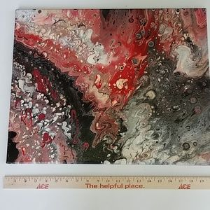Original fluid painting by Lily Rose one of a kind